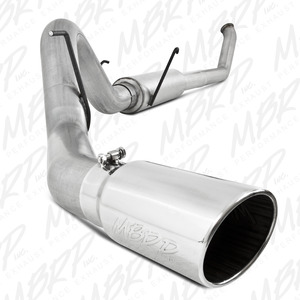 "2003-2004 Dodge/Chrysler 2500/3500 Cummins 4"" Turbo Back, Single"